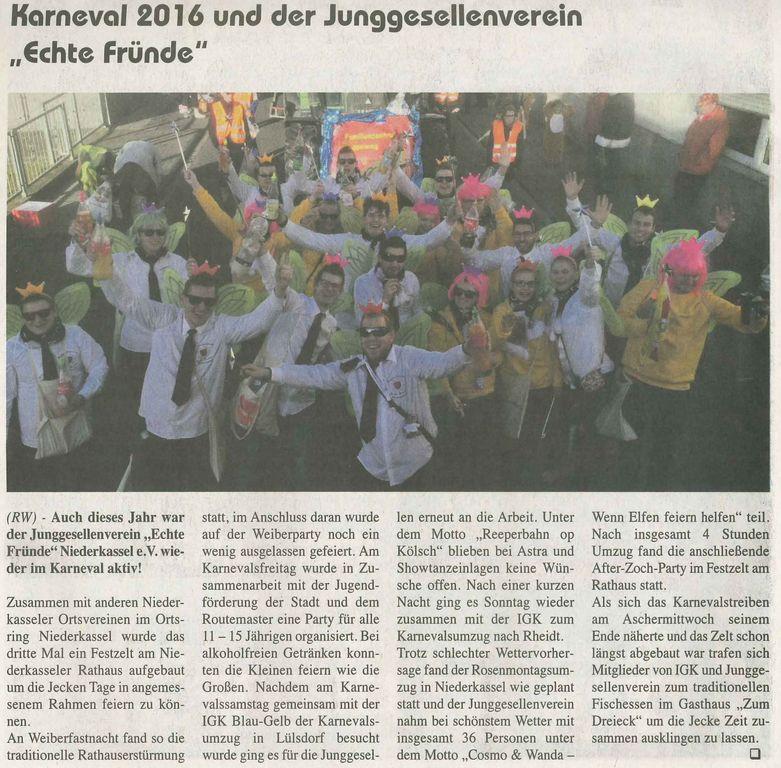 JGV Karneval 2016