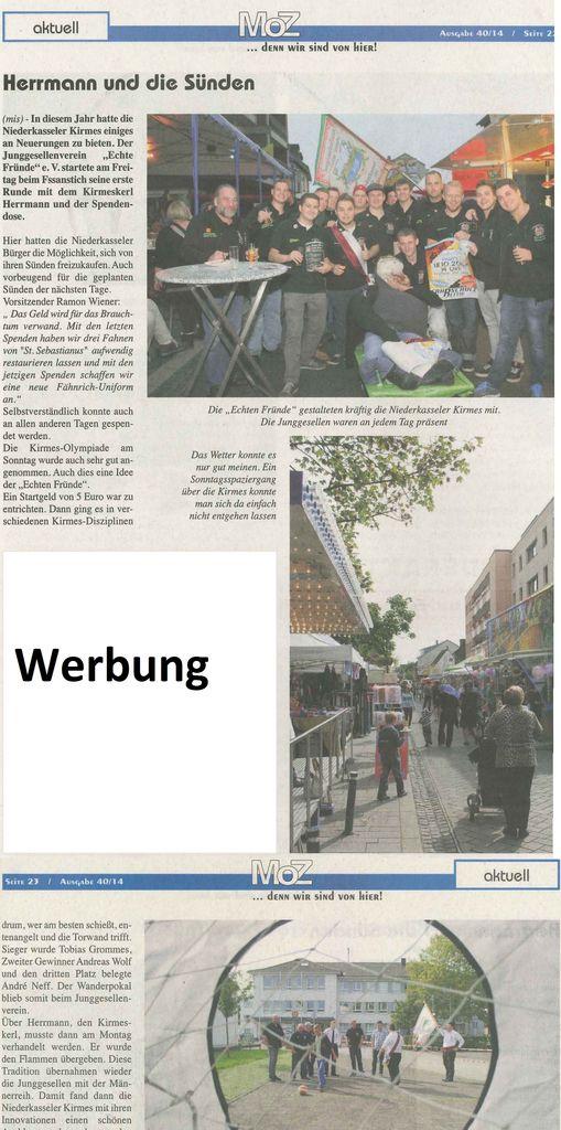 Kirmes Niederkassel 2014 MOZ1
