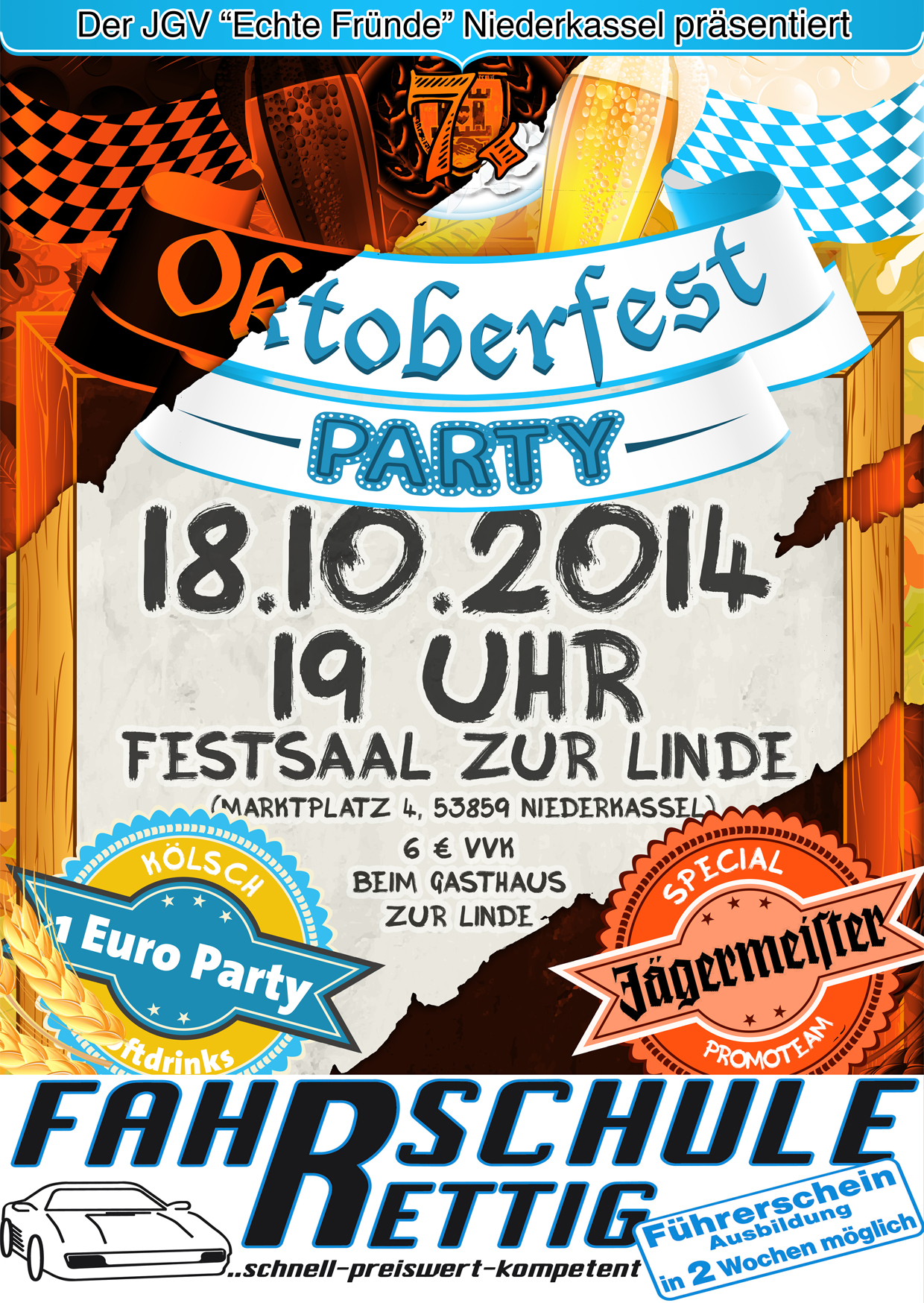 20. 20€ Oktoberfestparty – JGV