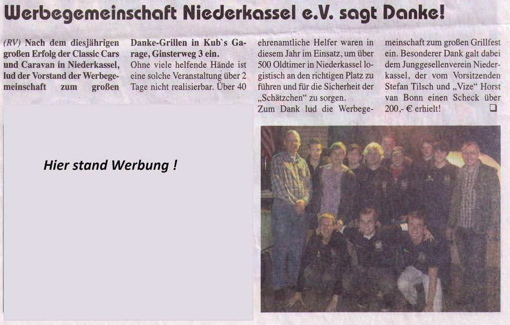 Oldtimer-Dankeschoengrillen 2009