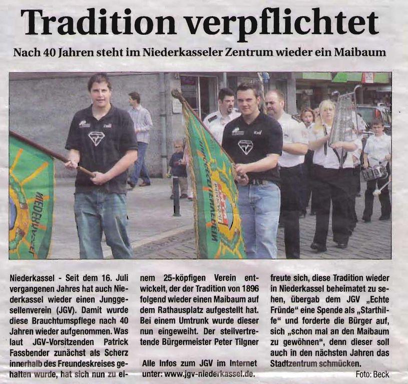 Tradition verpflichtet 2008: