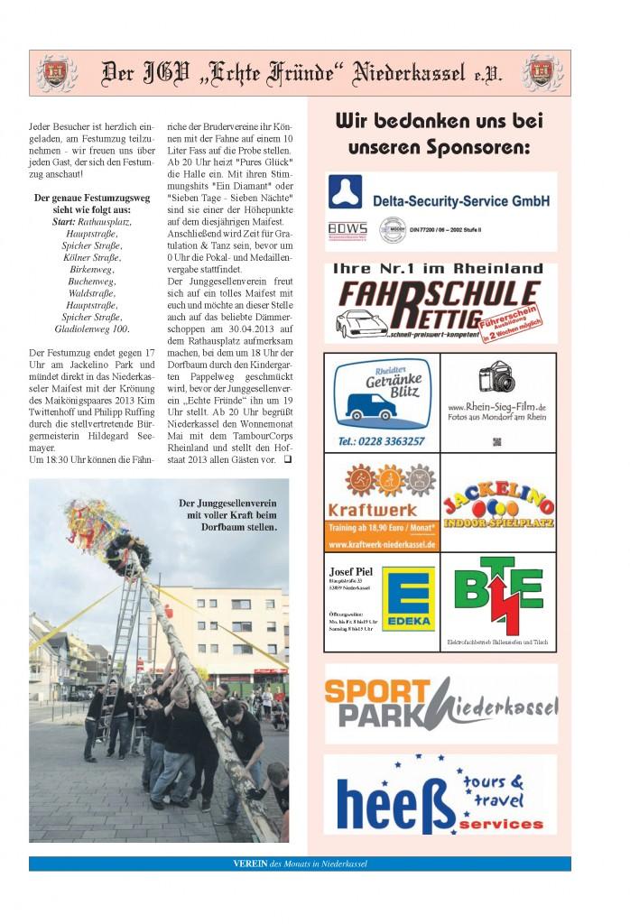 Seite 4 - Verein des Monat April 2013