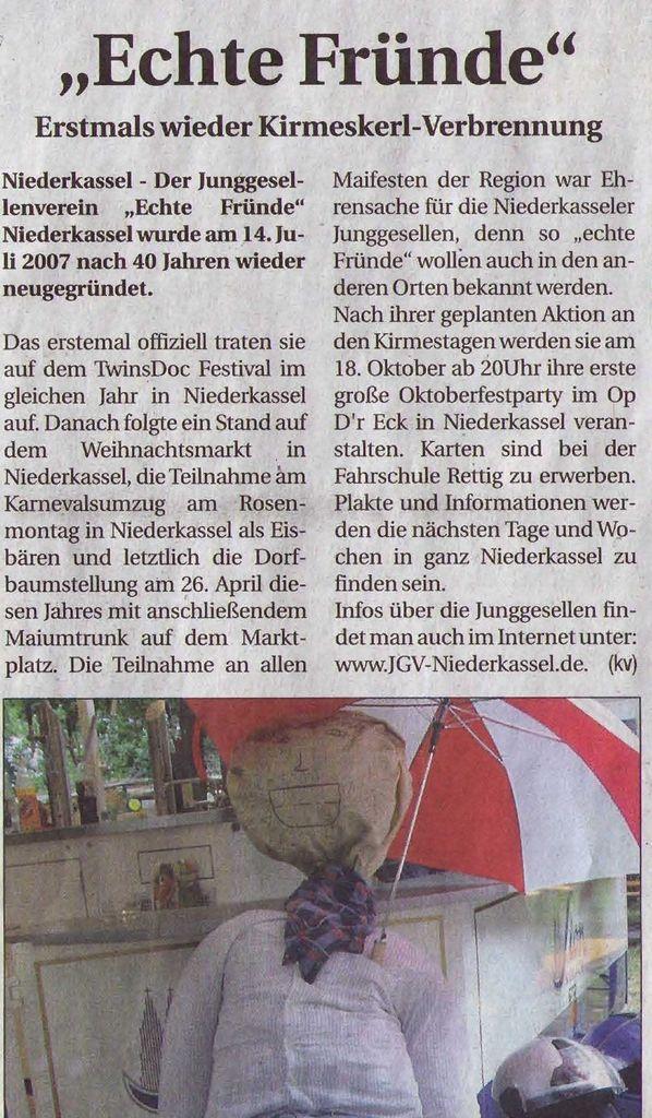 Kirmes Niederkassel 2009