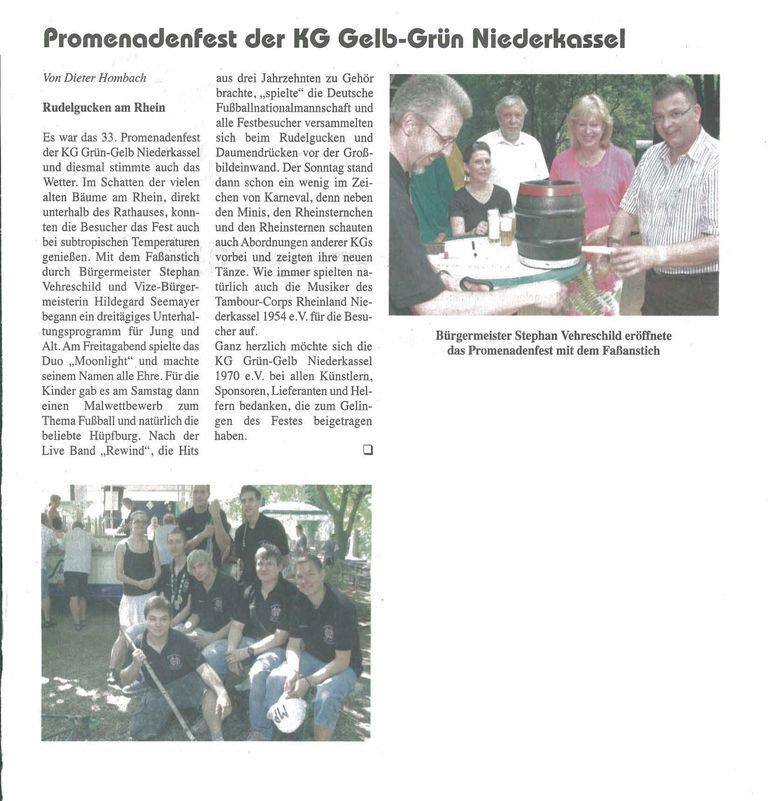Promenadenfest 2010: