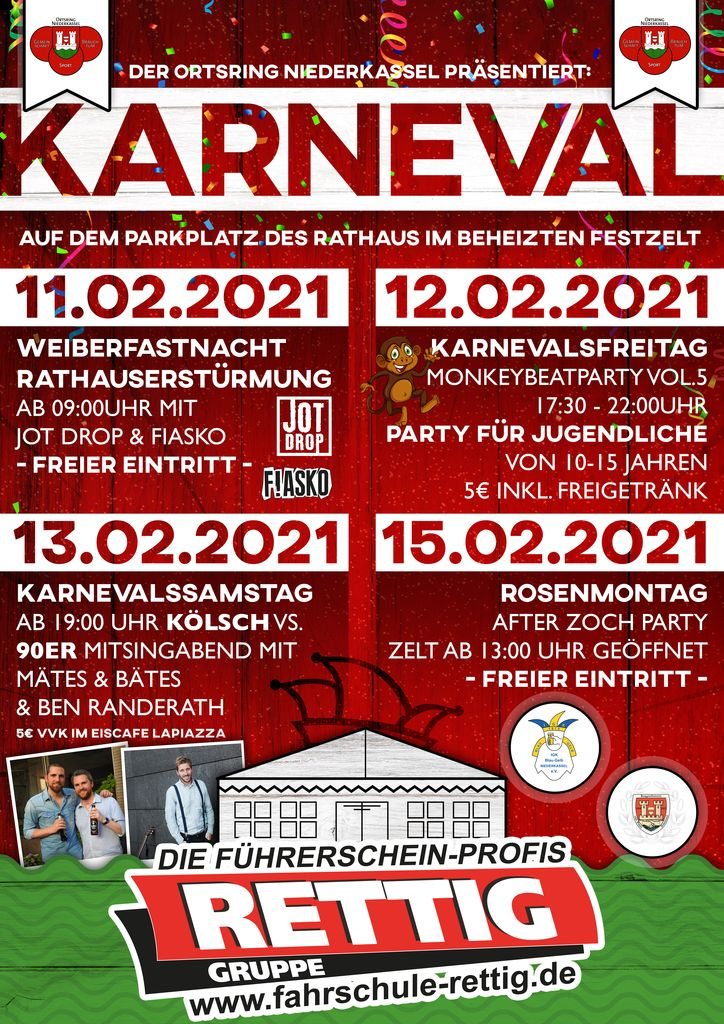 Karnevalszug Niederkassel 2021